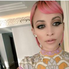 Nicole Richie's makeup for her Dubai appearance. Make-up done by Huda Beauty.