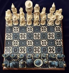 Mexican-Chess-Set-Excellent-Condition