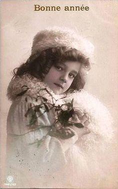 https://flic.kr/p/4avuJS   Vintage Postcard ~ Pretty Girl