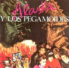"""CvA200. Alaska y los Pegamoides """"Alaska y los Pegamoides"""" by Costus / Hispavox 1982 / #Albumcover"""