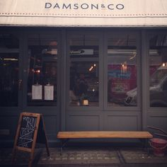 Damson & Co, Brewer Street, London. Friendly service, great coffee! | Photo: Rob Bentley