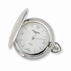 Charles Hubert Gold-plated Chrome White Dial Pocket Watch Jewelry Adviser Charles Hubert Watches. $128.88
