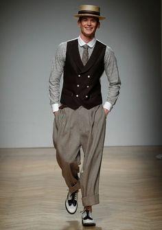 DAKS(ダックス)公式ホームページ Rain Costume, Tweed Run, Fashion D, Men Trousers, Sharp Dressed Man, Black Suits, Men Dress, Vintage Prom, Vintage Hats