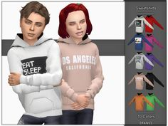The Sims 4 Sweatshirts (Unisex) Sims 4 Teen, Sims 4 Toddler, Sims Cc, Sims 4 Children, Kids Boys, Children Clothes, Sims 4 Bedroom, Sims 4 Cc Kids Clothing, Sims 4 Gameplay