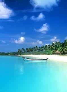 Colva Beach ,Goa,India: