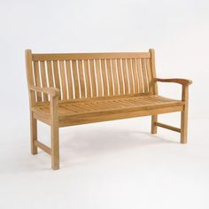 Timeless and ergonomic, BOXHILL's Wave Teak Bench is a classic! Clean and simply elegant, this outdoor bench is among our most popular styles!  Made of warm and durable A-grade teak, it seats 2 to 3 people. See it now at www.shopboxhill.com