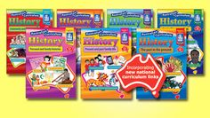 The aim of the series is to use the Historical Knowledge and Understanding strand of the Australian Curriculum as a vehicle for practising the skills laid down by the Historical Skills strand to answer the key inquiry questions. Science Resources, Teacher Resources, National Curriculum, Classroom Supplies, Australian Curriculum, Secondary School, Social Science, Social Studies, The Past