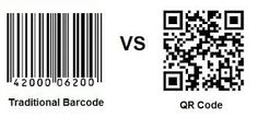 A QR code is basically a 2-dimensional bar code. It's just like the barcodes which are on every product we buy, but a QR code can hold more information.
