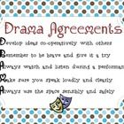 This poster outlines 5 basic agreements (rules) for the elementary drama classroom, but could also be used for high school.   This PDF poster has b...