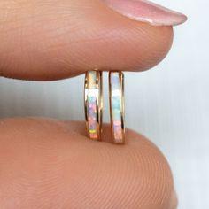 Opal Earrings, Opal Jewelry, Silver Hoop Earrings, Beaded Jewelry, Silver Jewelry, Silver Ring, Tatting Jewelry, Hair Jewelry, India Jewelry