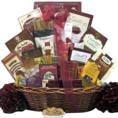 Great Arrivals Chocolate Gift Basket, Chocolate Madness - http://mygourmetgifts.com/great-arrivals-chocolate-gift-basket-chocolate-madness/
