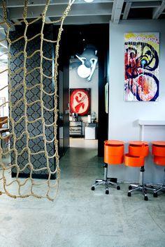 Stylish Properhair Salon in Newport Beach by Cole Barnett Interiors Beach Interior Design, Spa Design, California Hair, Southern California, Salon Style, Beauty Spa, Spa Treatments, Newport Beach, Orange County