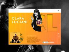 Clara Luciani designed by Anais Calmon. Album, Concert, Concerts, Card Book