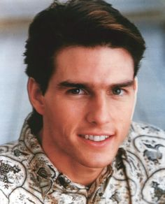 Tom Cruise , in his younger days