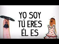 Aprender el verbo ser en español. Canción para aprender la conjugación en presente, pasado  futuro del verbo ser