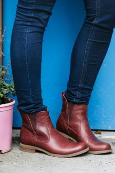 Timberland Earthkeepers® Savin Hill Chelsea, $160, available at Zappos via @Refinery29
