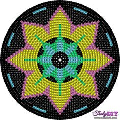 """The location where building and construction meets style, beaded crochet is the act of using beads to decorate crocheted products. """"Crochet"""" is derived fro Tapestry Crochet Patterns, Crochet Stitches Patterns, Crochet Chart, Lace Patterns, Bead Crochet, Filet Crochet, Beading Patterns, Stitch Patterns, Knitting Patterns"""