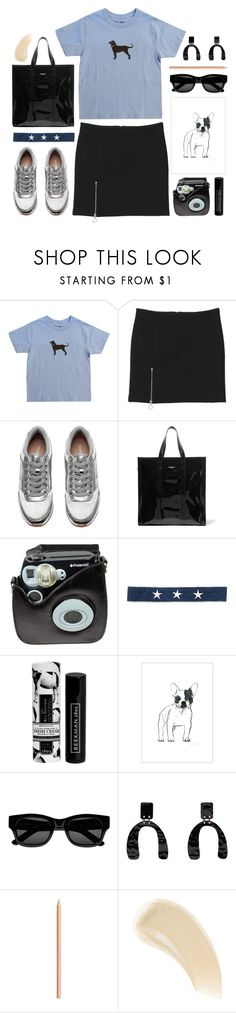"""""""saturday mode on"""" by foundlostme ❤ liked on Polyvore featuring Monki, Balenciaga, Polaroid, Electric Picks, Beekman 1802, Sun Buddies, Proenza Schouler, Ilia and weekend"""