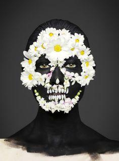 Dia De Los Muertos masks by Andrew Gallimore