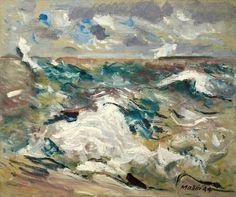 John Marin, Hurricane, 1944