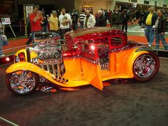 1 Bad Ass Blown '33 Ford Hot Rod @ AutoRama Show