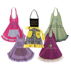 LOVE the idea of custom aprons for bridesmaids!! All my ladies are so amazing, I'm going to want to do so many things!
