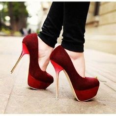 Buckle Embellished Hollow High Heel Sandals Red | Red High Heels