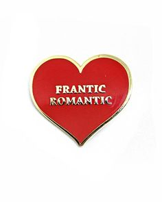 For the lost in love. Hard enamel pin Gold colored trim detail Rubber clutch pinback Measurements: By Spellcaster Cool Patches, Pin And Patches, Lizzie Hearts, Being Human Uk, Jacket Pins, Funny Fashion, Hats For Sale, Cool Pins, Hard Enamel Pin