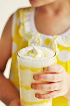 Lemon Meringue Milkshakes