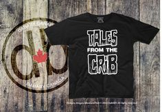 Tales From The Crib Toddler T-Shirt Halloween Clothing by DaBABY