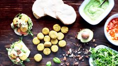 Falafel de Tremoço Falafel, Chefs, Dairy, Recipes, Food, Avocado Dip, Vegetarian Recipes, Top Recipes, Tapas Food