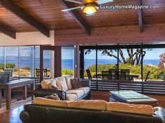 Arguably the most dramatic, expansive, panoramic, unobstructed ocean vistas in South Maui greet you as you step through the entry of your comfortable single-level architect-designed home at the absolute top of Maui Meadows (the coolest elevation possible at 600' on the Wailea- side border)