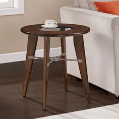Truss End Table 24 Inches High X Wide Deep Sofa