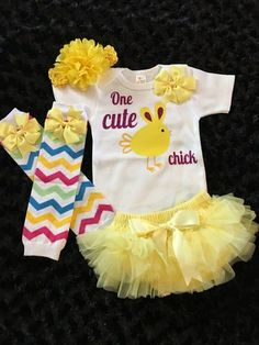 491152626433a Baby Girl Easter Outfit Bright Yellow Tutu Yellow Tutu