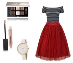 """""""Mini school dance"""" by pipermiller ❤ liked on Polyvore featuring Miss Selfridge, Givenchy and Burberry"""