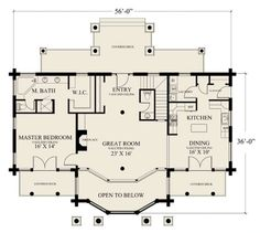 1200 sq ft open floor house plans - Google Search