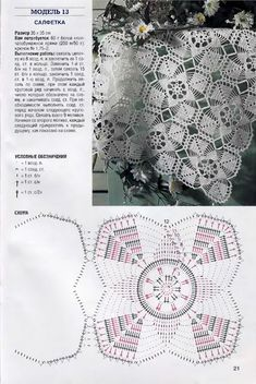 Crochet Patterns Shawl Knitting and embroidery, needlework - Magic fingers .One of the most beautiful crochet works I have ever seen. Crochet Motif Patterns, Crochet Chart, Crochet Squares, Thread Crochet, Filet Crochet, Diy Crochet, Vintage Crochet, Crochet Stitches, Crochet Table Runner