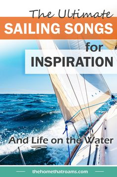 The best sailing songs for you to add to your playlist. Whether you're daydreaming about being a sailor on an adventure and need a little inspiration, or you're planning the perfect playlist for a yacht charter - this list is for you! You'll find sailing music from lots of different genres on this list - classic rock, country, pop, and more. Head on over now to see our songs about sailing! Sailboat Living, Living On A Boat, Sailing Terms, Liveaboard Boats, Islands In The Stream, Dock Of The Bay, Buy A Boat, Classic Songs