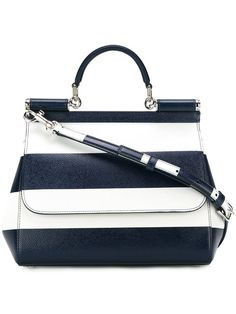 b6b0f75dca00 Dolce   Gabbana Medium Sicily Shoulder Bag - Farfetch