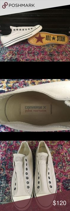 Converse X John Varvatos Brand New (maybe wore once around the house) Converse Shoes Sneakers