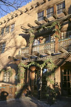 Inn of the Anasazi in Santa Fe, New Mexico.