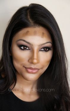 Makeup pictorial on the art of cream contouring!