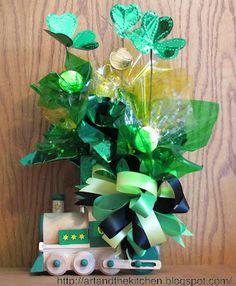 St Patrick's Day arrangement