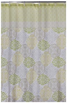 Gypsy Shower Curtain, Green - casa.com