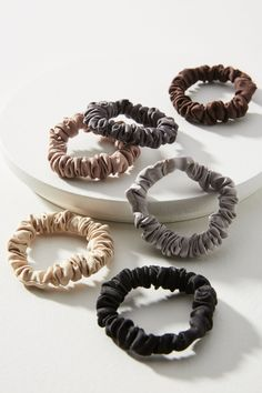 Anthropologie Mini Coiled Hair Tie Set DNMswuzCQ