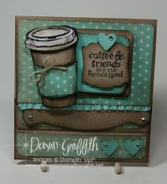 Perfect Blend stamp set :) click on my web site link to get all the details on this card . A video will be posted next week :)  Hugs