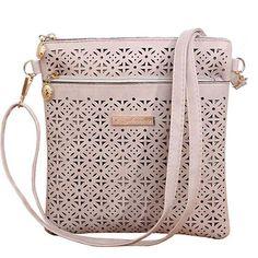 2016 Small Casual women messenger bags PU hollow out crossbody bags ladies shoulder purse and handbags bolsas feminina XP685