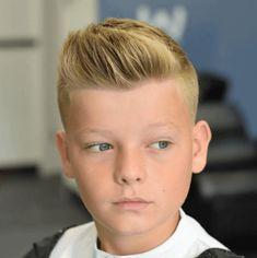 Short Pompadour Kids Hairstyles