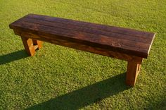 Handmade Rustic Wood Bench by RemadeAmerica on Etsy, $200.00