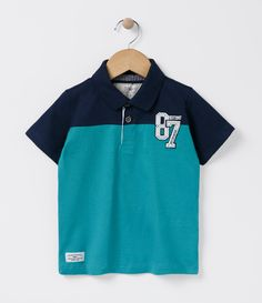 79cbef7259 Camiseta Polo Infantil - Tam 1 a 4 - Lojas Renner